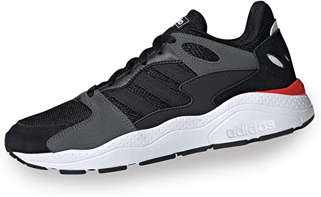 adidas Crazychaos, Zapatillas para Correr para Hombre, Multicolor Negbás Negbás Grisei 000, 42 EU: Amazon.es: Zapatos y complementos
