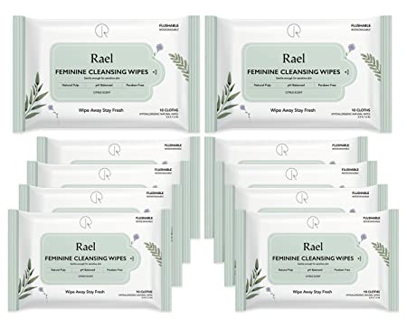 Review Rael Feminine Wipes with