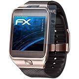 Samsung Gear 2 Neo Schutzfolie - 3 x atFoliX FX-Clear kristallklare Folie Displayschutzfolie