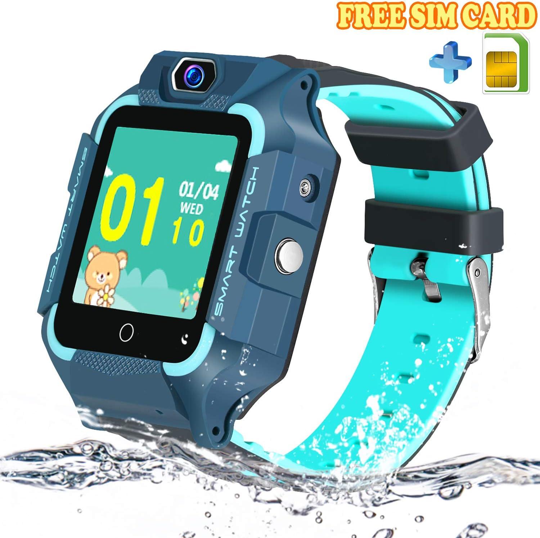 Amazon.com: Kids Smart Watch with Sim Card, Waterproof LBS ...