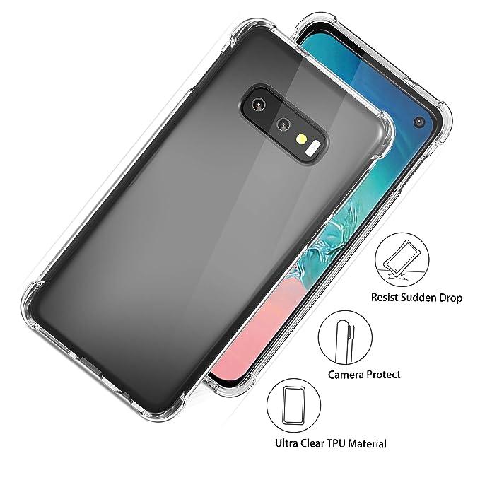 Amazon.com: Carcasa para Samsung Galaxy S10e, parte trasera ...