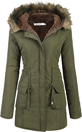 Hooded Parka Womens Fur Lined