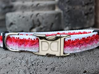 product image for Cabo Cotton Candy Pink Dog Collar M/L