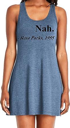 d2f641af3 Amdesco Ladies Nah. Rosa Parks, 1955 Black History Month Casual Racerback  Tank Dress,