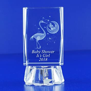 52dc408f4c4 Baby Showers Ideas 12 PCS and Gifts for Boy or Girl Personalized Custom  Laser Etched Engraving 3D...