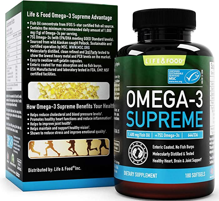 Top 9 Omega3 By Life  Food