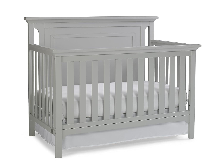 Ti Amo Carino 4-in-1 Convertible Crib, Misty Grey