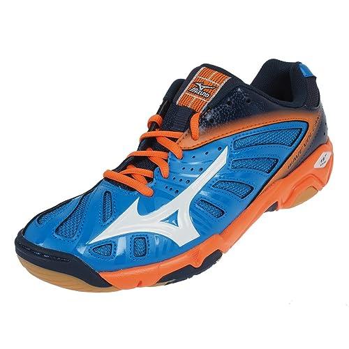 Mizuno - Zapatillas de Balonmano para Hombre Naranja Naranja: Amazon.es: Zapatos y complementos