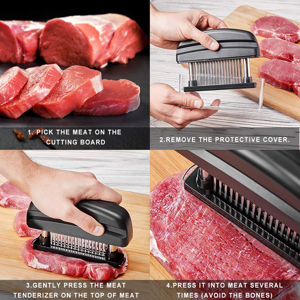 meat tenderizer (Model2-Black)