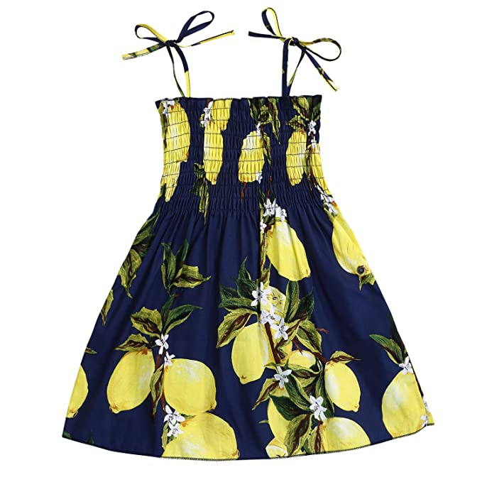 USA 3PCS Toddler Kids Baby Girl Sunflower Crop Tops Shorts Dress Outfits Sunsuit