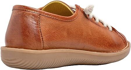 Chacal Shoes - Zapatos de Mujer Casual Piel 100% de Cordones Elásticos - Máximo Confort - Fácil Calzado - Zapatos Deportivos - Cordones elásticos - EU 36 a EU 41