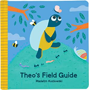 Manhattan Toy Theo Turtle Field Guide Baby Board Book, Ages 6 Months and up