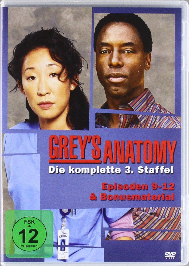 Grey\'s Anatomy: Die jungen Ärzte - Die komplette 3. Staffel 7 DVDs ...