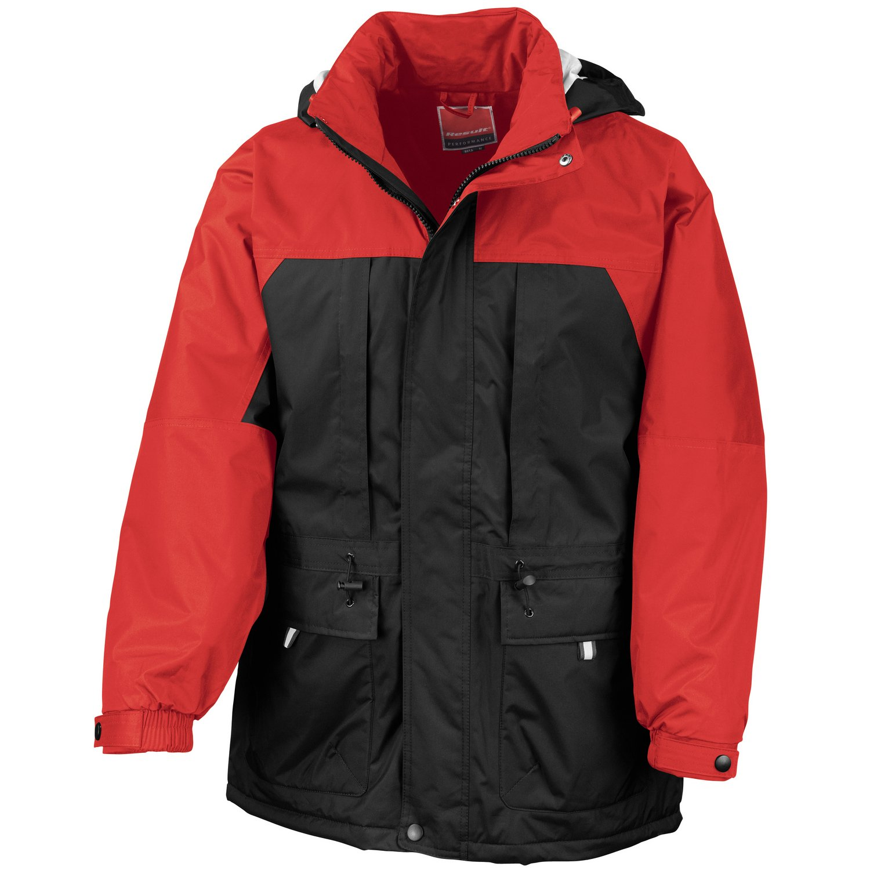 Result Multi-function winter jacket Black/ Red S