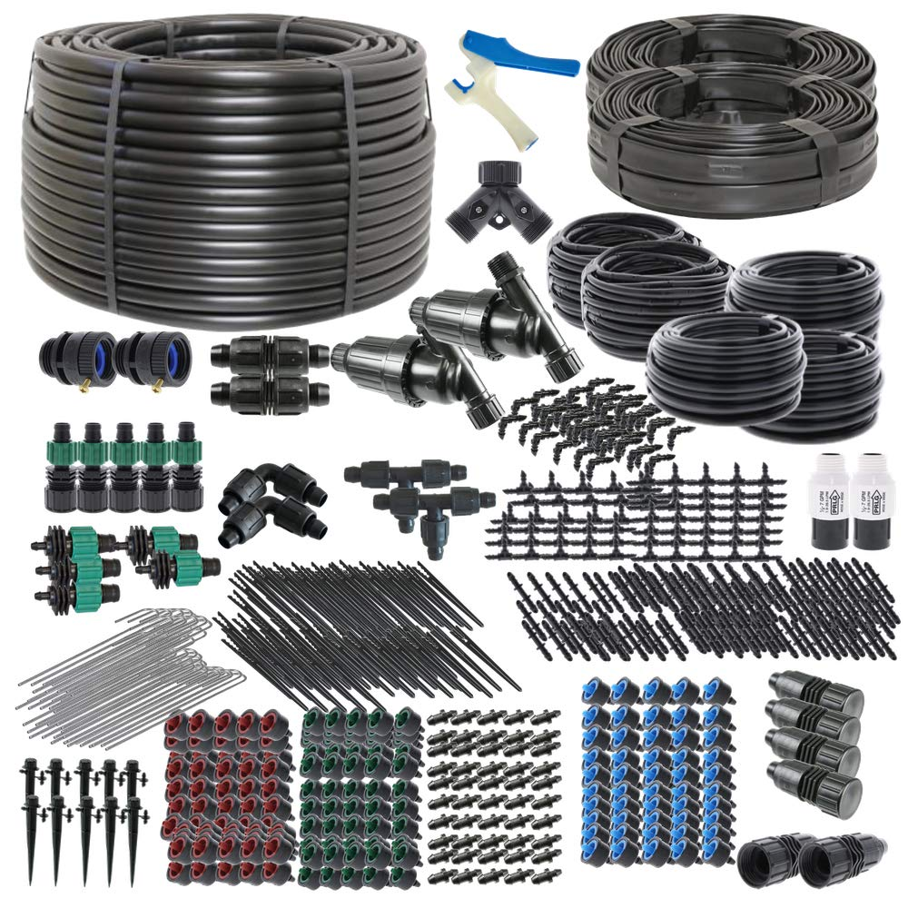 Drip Irrigation Kit for Gardens Ultimate DIY Watering System