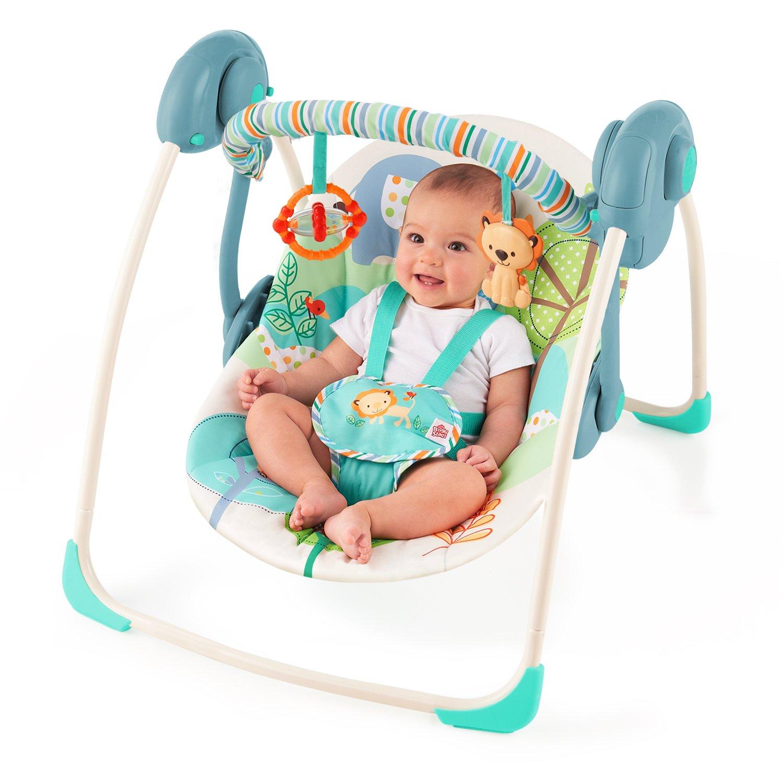 Bright Starts Babyschaukel Playful Pals portable Amazon