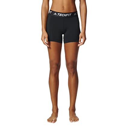 d6490174185a Amazon.com   adidas Women s Soccer Techfit Base Short Tights ...