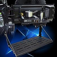 Wrangler Tailgate Table, Aluminum Alloy Black Rear Foldable Shelf for Jeep Wrangler JK 2007-2017 2/4 Door, Support up to…