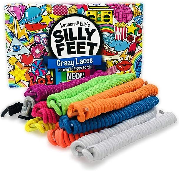 Kids Shoe Laces No Tie Shoelaces Curly