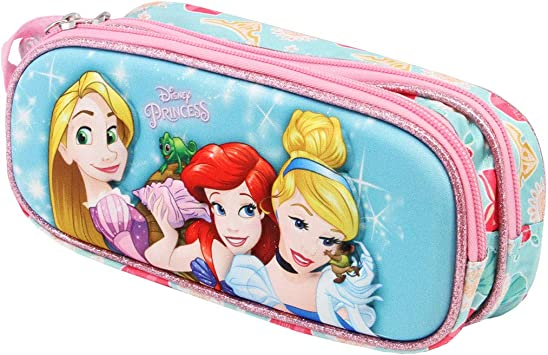 Karactermania Princesas Disney Beautiful - Estuche Portatodo 3D Doble, Color Multicolor: Amazon.es: Equipaje