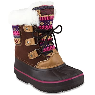 Amazon.com | London Fog Girls Tottenham Cold Weather Snow Boot ...