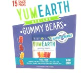YUMEARTH Organic Gummy Bears Value Size Box, 10.5 OZ