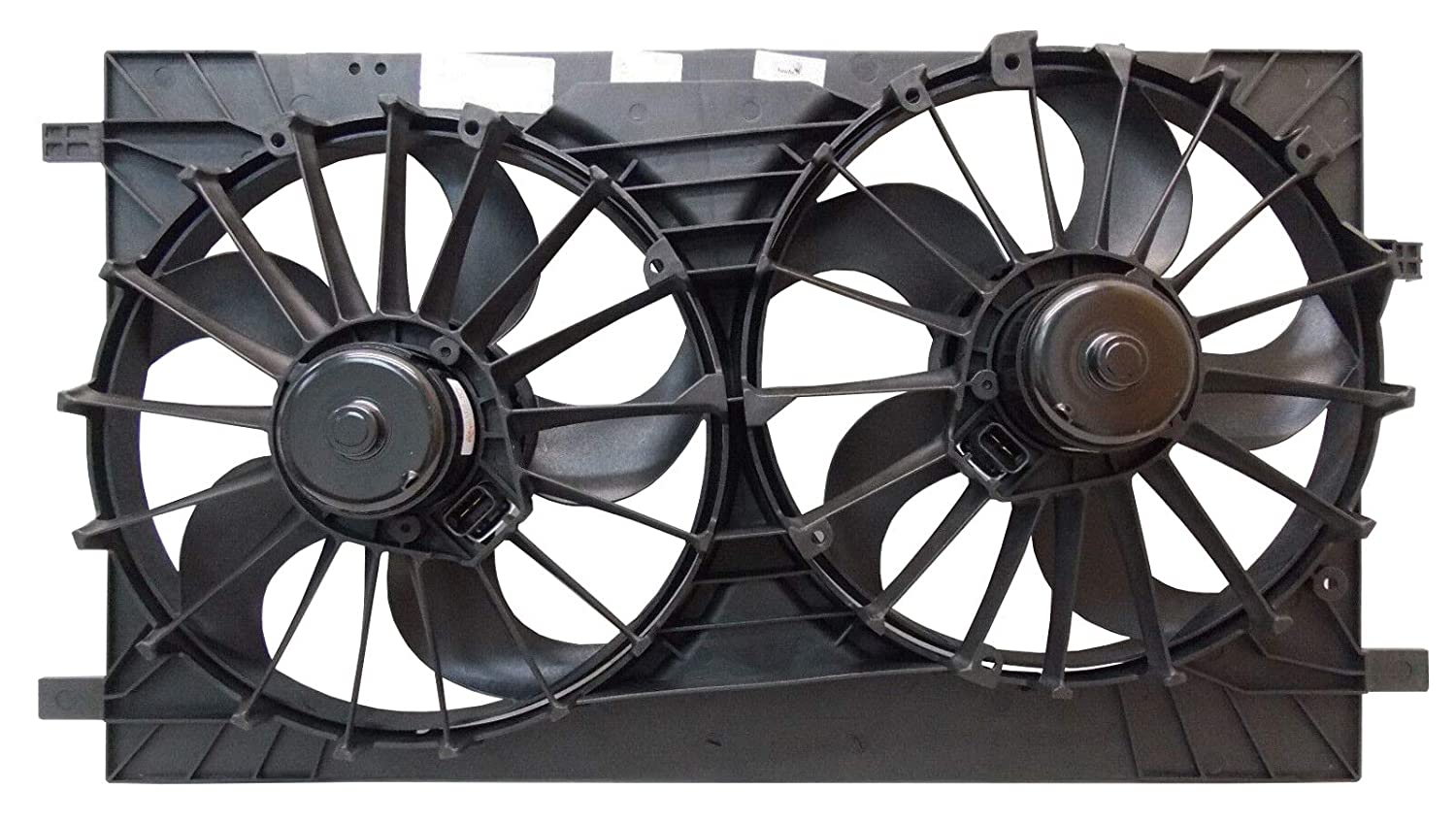 Sunbelt Radiator And Condenser Fan For Jeep Compass Dodge Caliber CH3115152 Drop in Fitment