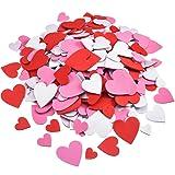 WILLBOND Foam Heart Stickers Foam Hearts Self