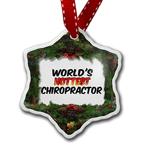 Amazon.com: Christmas Ornament Worlds hottest Chiropractor ...