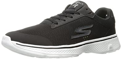 d6df6be3408 Skechers Performance Men's Go 4-Distance Walking Shoe,Black/White,7.5 M