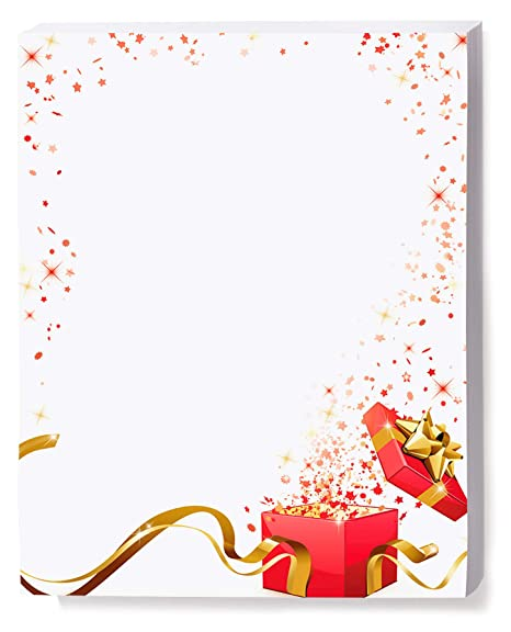 image relating to Printable Christmas Stationery titled : Pink Xmas Reward Holiday vacation Stationery, Eco