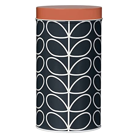 Orla Kiely Storage Tin Linear Stem Amazon Kitchen Home