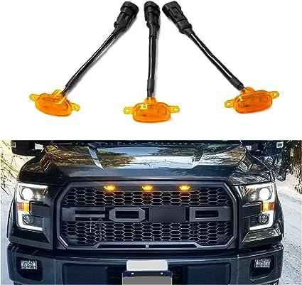 Seven Sparta - Luces LED ámbar para parrilla delantera de Ford ...