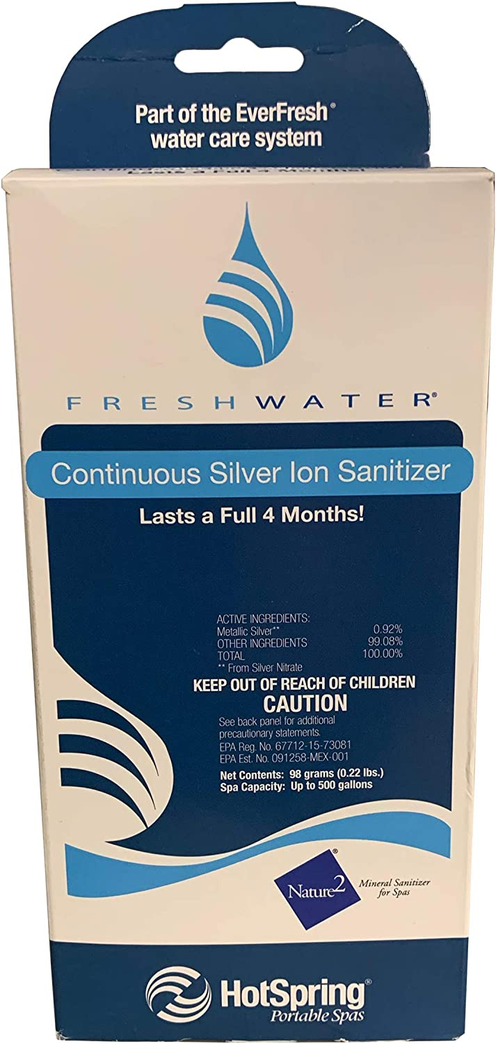 Hot Spring Spas Classic Freshwater Ag+ Continuous Silver Ion Sanitizer 71325