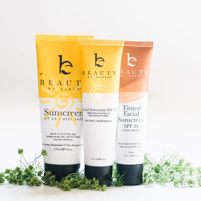 Crema solar mineral SPF 25 - Con ingredientes naturales, minerales ...