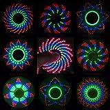 "Me So Funny Fidget Spinner, ""The Coolest Fidget Spinner"" with 18 Patterns LED Lights, Anti Stress Hand LED Spinners, Finger FIgit Spinner Toys"