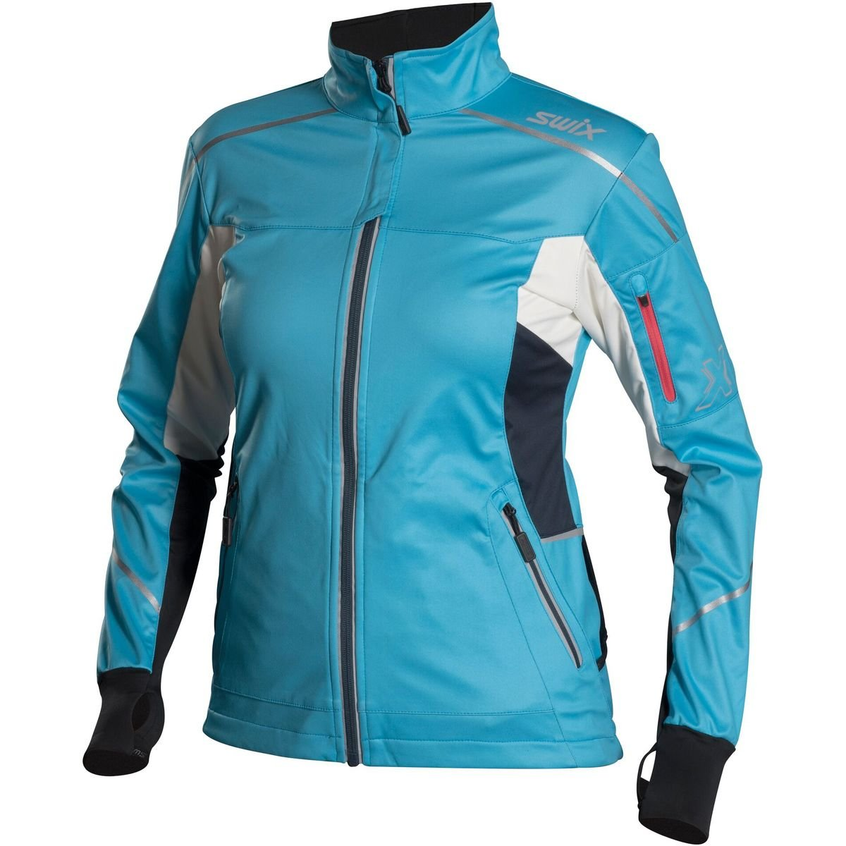 Swix Delda Light Softshell Jacket - Women's Sky, S