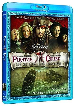 Piratas Del Caribe En El Fin Del Mundo Blu Ray Amazon Es J Depp O Bloom K Knightley Gore Verbinski J Depp O Bloom Cine Y Series Tv