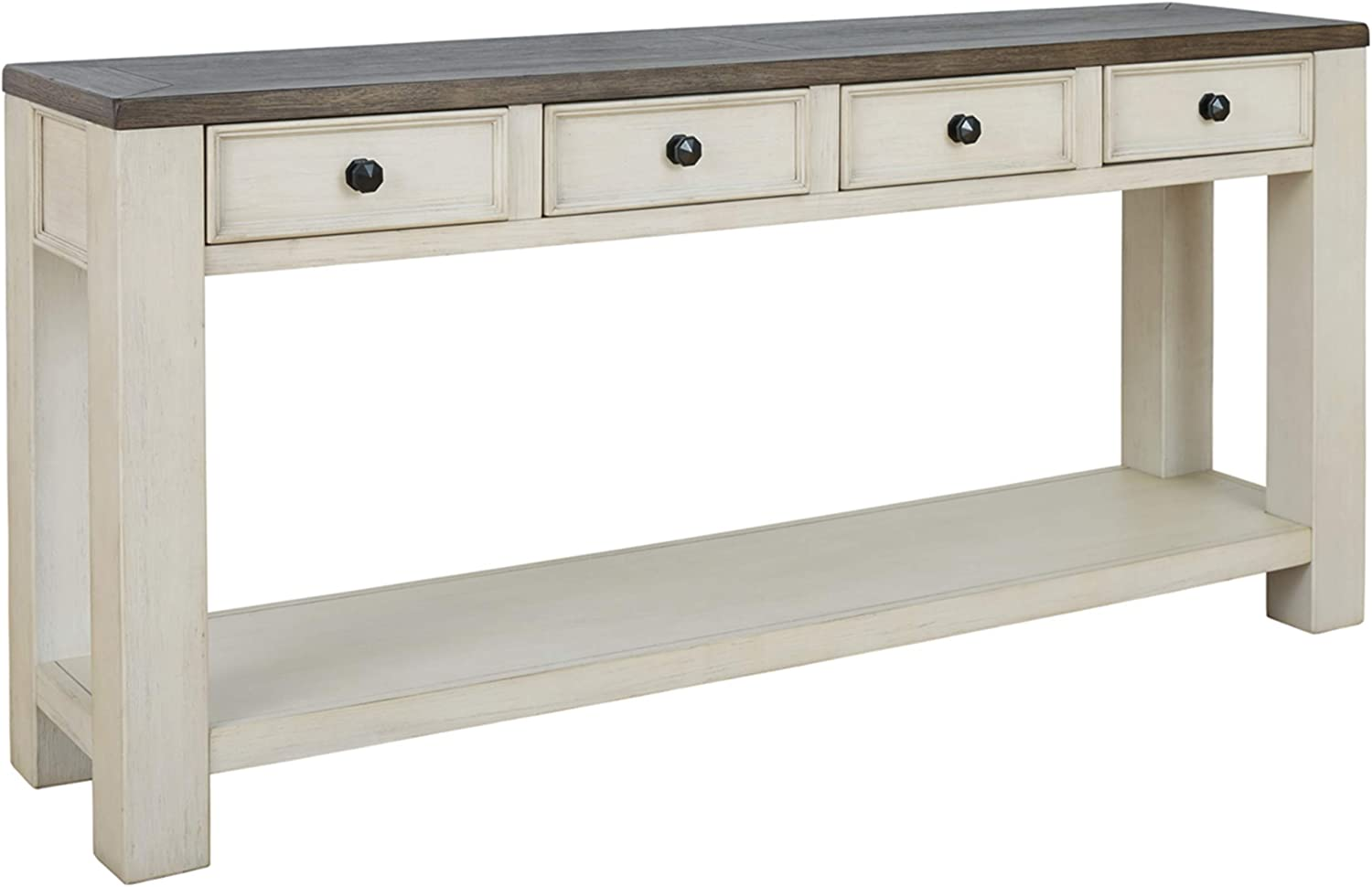 Signature Design by Ashley - Bolanburg Console Table, Brown/White