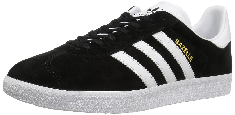 adidas Men's Gazelle Casual Sneakers B01HH93GRA 8.5 D(M) US|Black/White/Gold Met.