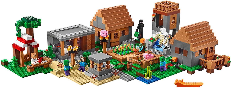 La Aldea de Lego Minecraft