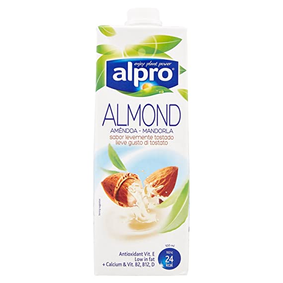 bebida Alpro almendra, de almendras enteras - 1L: Amazon.es ...