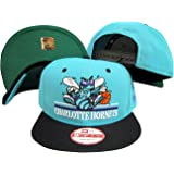 355d4819 New Era Charlotte Hornets Teal/Black Two Tone Plastic Snapback Adjustable  Plastic Snap Back Hat