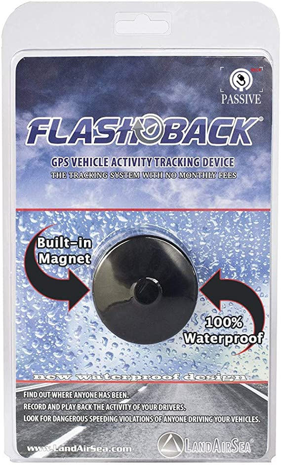 Vehicle Activity Device Land Air Sea Flashback Magnetic Waterproof GPS Logger