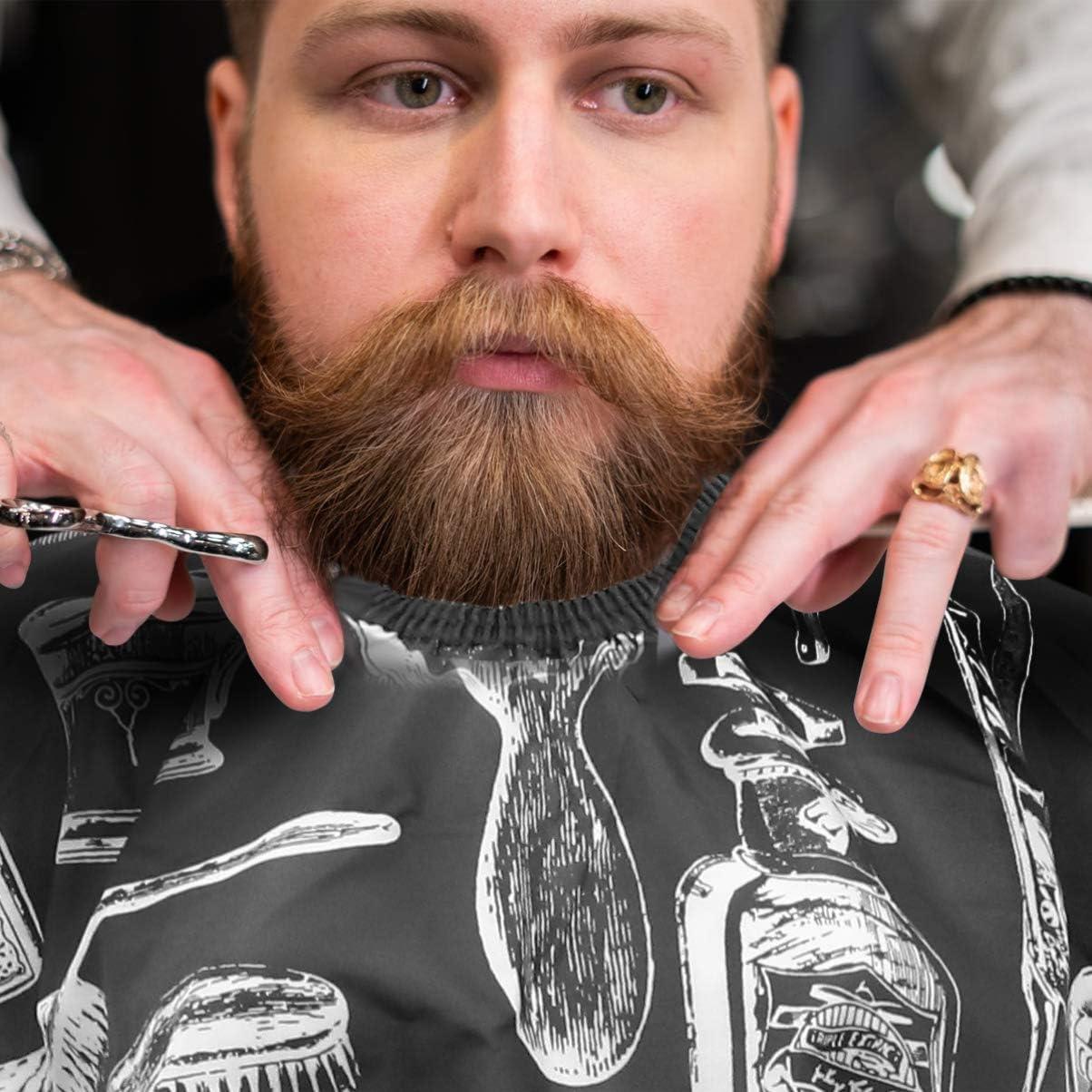 PIXNOR Corte de pelo peluquería cabo paño delantal pelo estilo salón de cabo