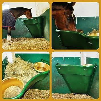 cornerhorsefeeder feeder horse on save corner and feed in money hay