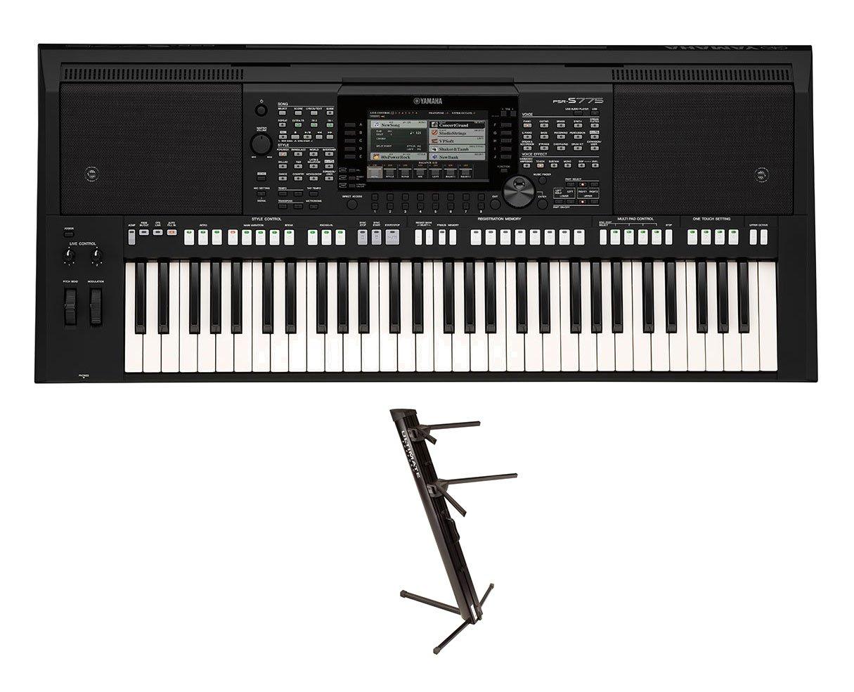 Amazon com: Yamaha PSR-S975 + Ultimate Support APEX AX-48