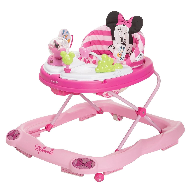 Disney Minnie Mouse Glitter Music and Lights Walker, Pink Disney by Dorel WA067CMH
