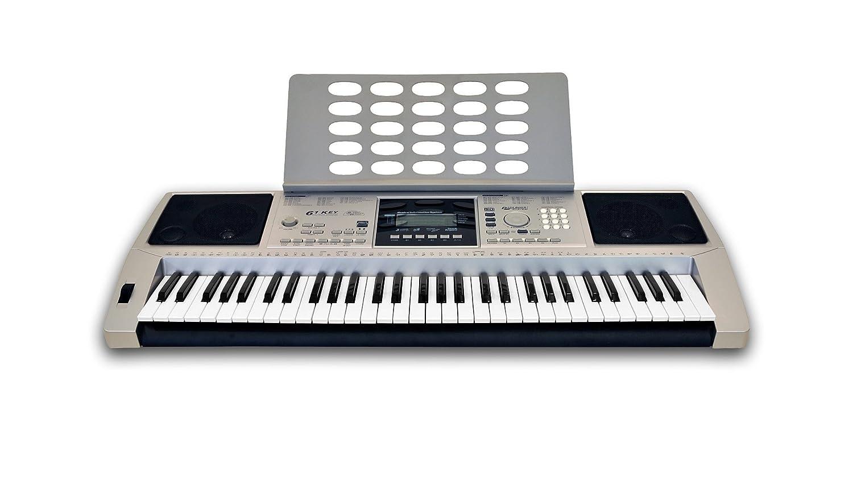 C. GIANT Clifton LP6210 C Keyboard, USB, MIDI, 61 teclas sensibles al tacto, fuente de alimentación, rueda de pitch bend: Amazon.es: Instrumentos musicales