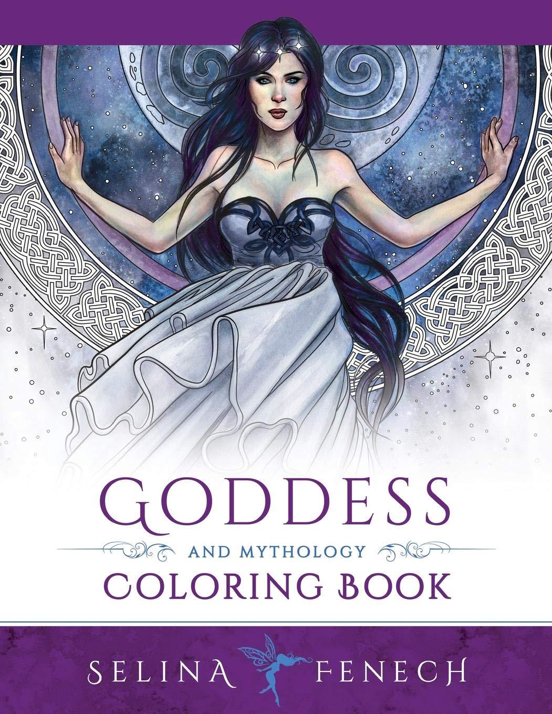 Goddess and Mythology Coloring Book (Fantasy Coloring by Selina, Band 9)